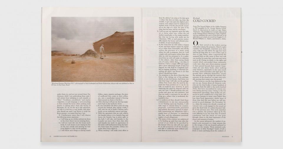 Harper's Magazine, USA, 2012