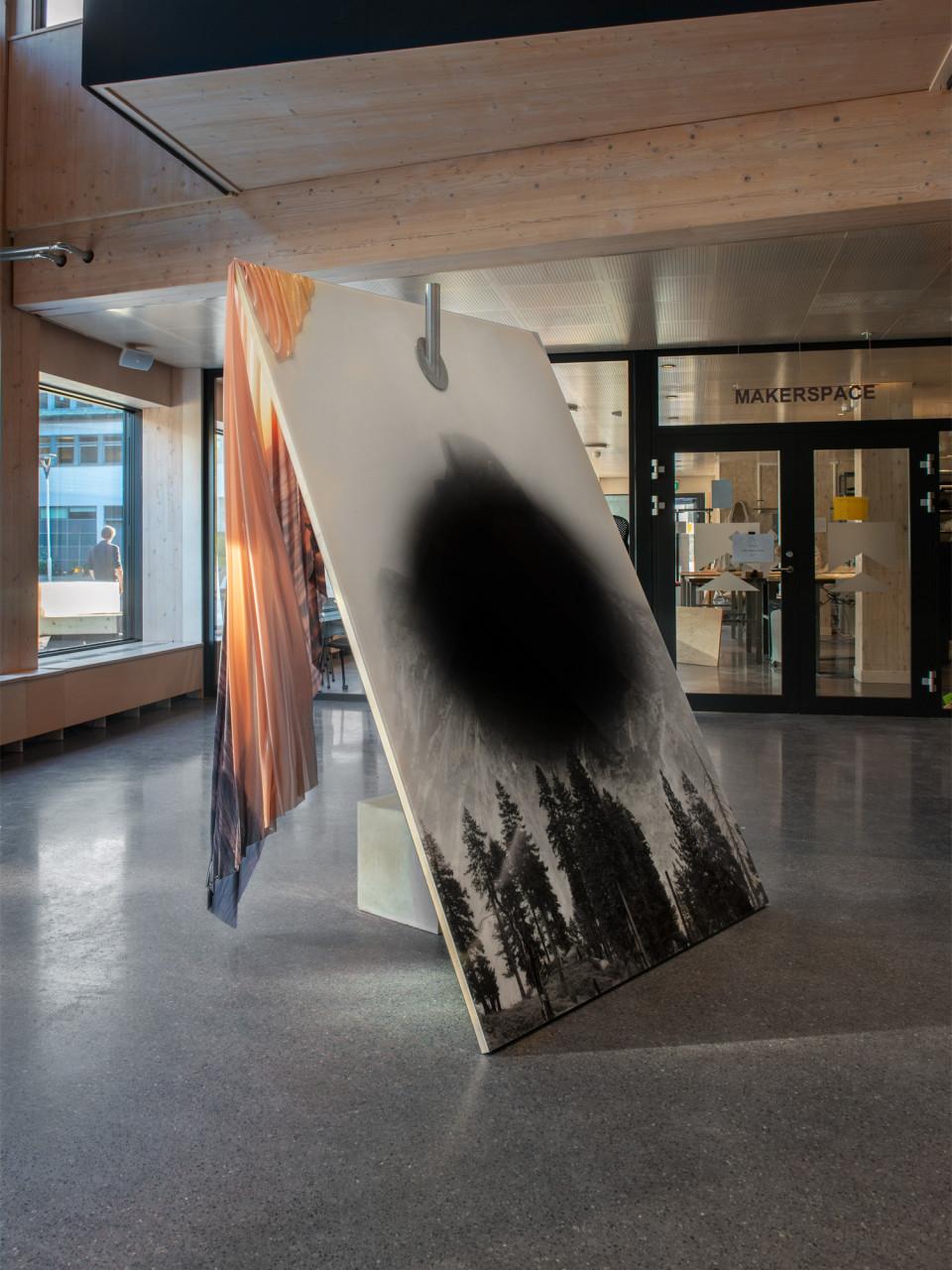 Public art work, A Working Lab, Gothenburg, Sweden, 2020
