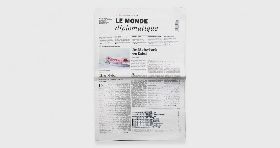 Le Monde Diplomatique, France/Germany, 2011