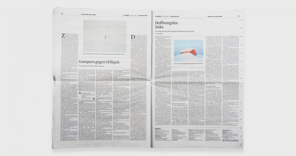 Le Monde Diplomatique, France/Germany, 2011